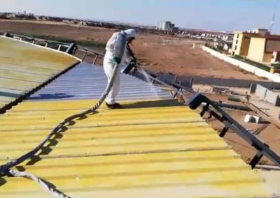 Roof Waterproofing with Polyurea